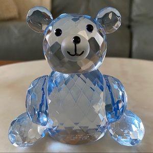 🧸💙 Blue CRYSTAL TEDDY BEAR 💙🧸